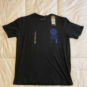 Under Armour UA Captain America Marvel T-Shirt XL